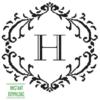 Monogram H alphabet