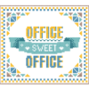Office Sweet Office cross stitch pattern