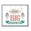 Dream Big little one cross stitch