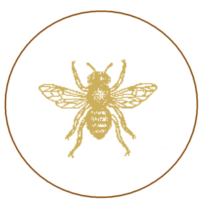 Bee cross stitch