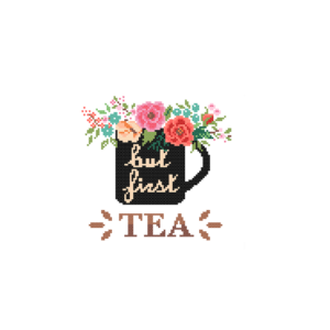But First Tea cross stitch