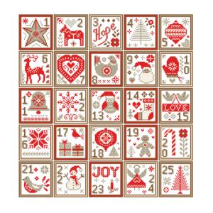 Nordic Christmas sampler
