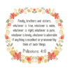 Phillipian Floral cross stitch