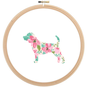 Beagle Dog cross stitch