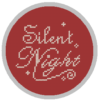 Silent night cross stitch