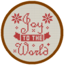 Joy to the world cross stitch