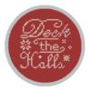Deck the Halls cross stitch