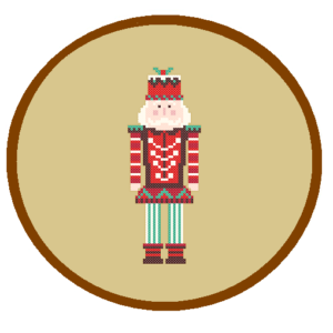 Nutcracker cross stitch