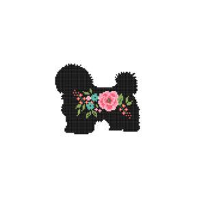Havanese cross stitch