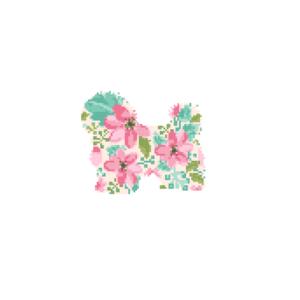 Havanese Dog cross stitch