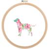 Labrador Retriever Dog cross stitch