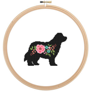 Newfoundland cross stitch