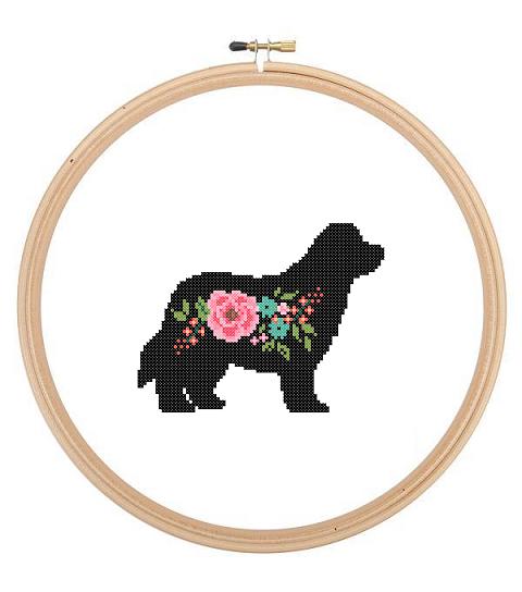 Newfoundland cross stitch