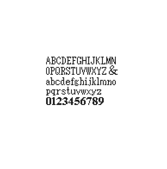 Anniversary alphabets