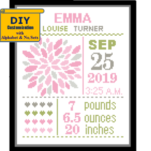 Big Flower cross stitch