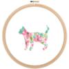American Shorthair cat cross stitch