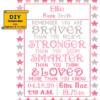 You are Braver cross stitch