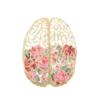 Floral Brain cross stitch