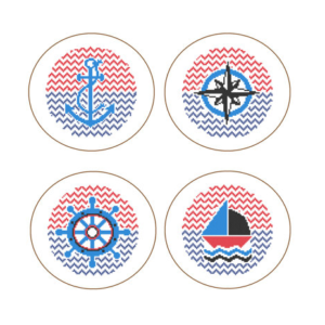 Nautical cross stitch