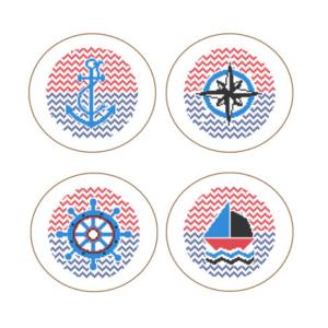 Nautical cross stitch