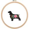 Springer Spaniel cross stitch