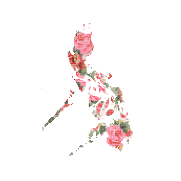 Philippines map cross stitch