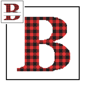 Buffalo Plaid B cross stitch