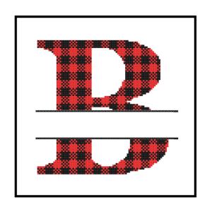 Buffalo Plaid B cross stitch