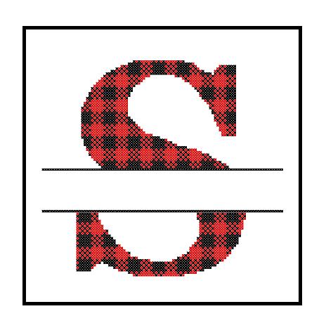 Buffalo Plaid S cross stitch