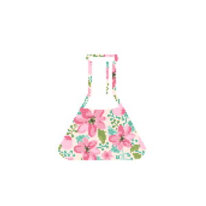 Science flask cross stitch